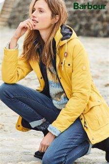 Barbour® Harvest Gold Throw Jacket