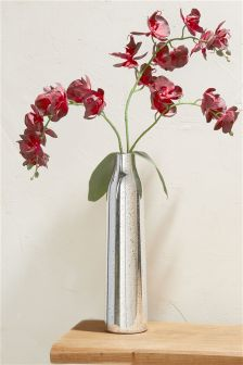 Luxe Red Orchid In Statement Vase