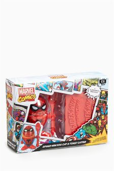 Spider-Man™ Egg Cup And Toast Cutter Set