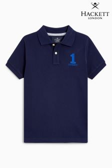 Hackett Navy Older Boys Poloshirt