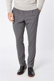 Stripe Skinny Fit Suit: Trousers