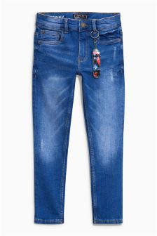 Five Pocket Skinny Skate Jeans (3-16yrs)