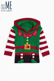 Christmas Elf Sweater (3mths-6yrs)