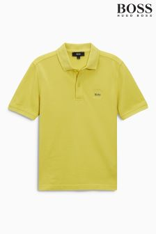 Hugo Boss Yellow Polo