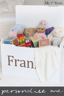 Personalised Toy Box By My 1st Years