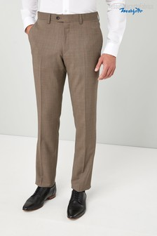 Signature 100% Italian Wool Suit: Trousers