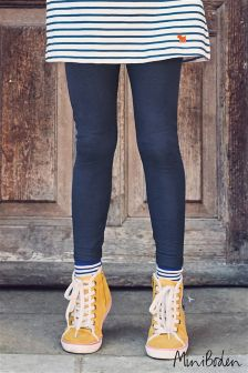 Boden Blue Denim Leggings