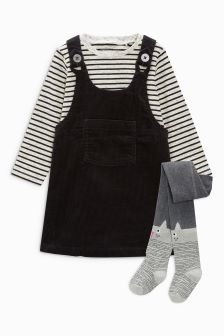 Pinafore Set With Character Tights (3mths-6yrs)