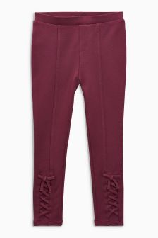 Bow Ponte Leggings (3-16yrs)