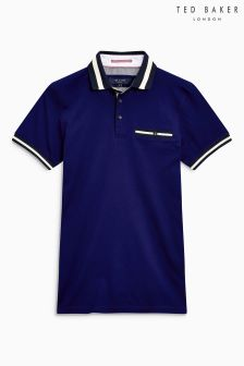 Ted Baker Beeril Contrast Polo
