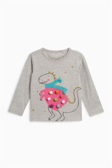 Dino Long Sleeve Top (3mths-6yrs)