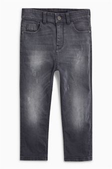 Loose Fit 5 Pocket Jeans (3-16yrs)