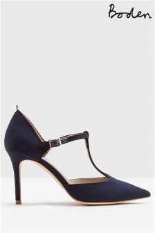 Boden Blue Angelica T-Bar Heel