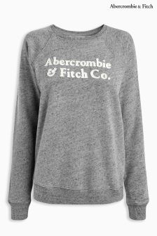 Abercrombie & Fitch Grey Crew Sweat