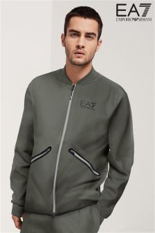 Emporio Armani EA7 Gun Metal Grey City Explorer Track Top