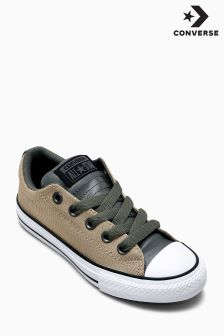 Converse Khaki All Star Street