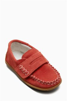 Leather Penny Loafers (Younger)