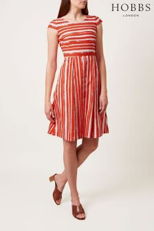 Hobbs Orange Katerina Dress