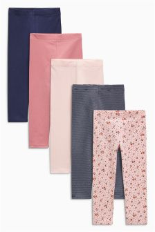 Leggings Five Pack (3mths-6yrs)