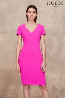 Hobbs Pink Confetti Dress