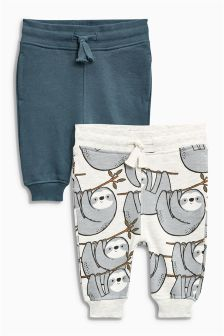 Sloth All-Over-Print Joggers Two Pack (3mths-6yrs)
