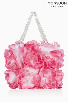 Monsoon Pink Arabella Flower Bag