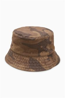 Camo Bucket Hat (Younger Boys)