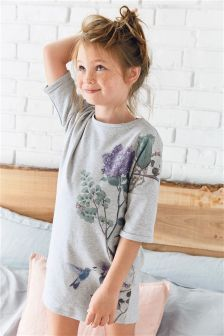 Floral Printed Nighty (3-16yrs)