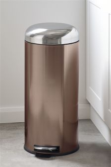 Copper Effect Bin