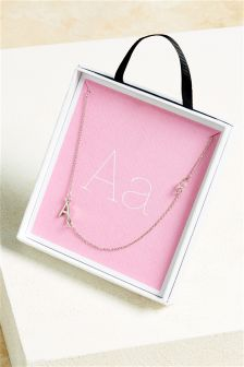 Asymmetric Initial Necklace