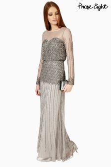 Phase Eight Silver Enya Dress
