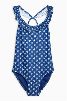 Frill Back Swimsuit (3-16yrs)