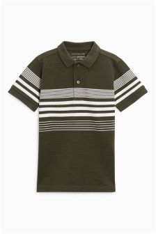 Striped Polo (3-16yrs)