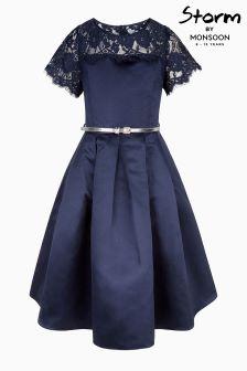 Monsoon Navy Quinn Dress