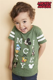 Short Sleeve Mickey And Friends T-Shirt (3mths-6yrs)