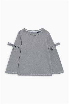 Tie Sleeve Top (3-16yrs)