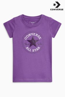 Converse Purple Chuck Taylor Tee