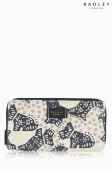 Radley Ivory Folk Dog Purse