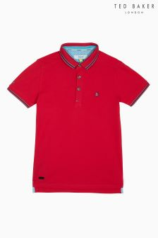 Baker By Ted Baker Pique Icon Polo