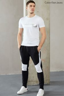 Calvin Klein White Toler Slim Fit T-Shirt