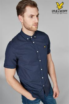 Lyle & Scott Multi Colour Running Stitch Shirt