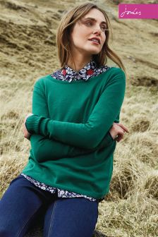 Joules Navy Ditsy Classic Fit Lucie Shirt