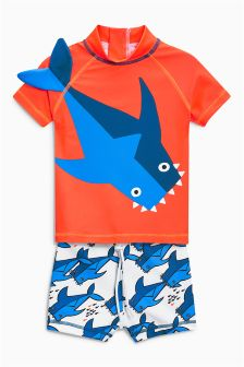 Shark Two Piece Set (3mths-6yrs)