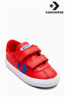 Converse Red Breakpoint Ox Velcro