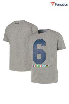 Charcoal Astley Bouclé Check Curtain Fabric Sample