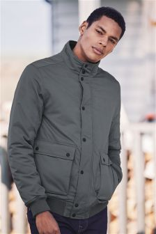 Wadded Harrington Jacket