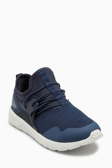 Elastic Lace Fashion Trainers (Older)
