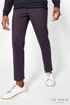 Ted Baker Maxchi Slim Fit Textured Trouser