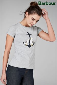 Barbour® Grey Anchor Tee