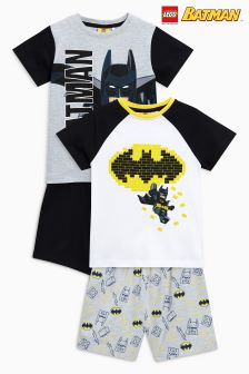 Lego™ Batman® Pyjamas Two Pack (4-10yrs)